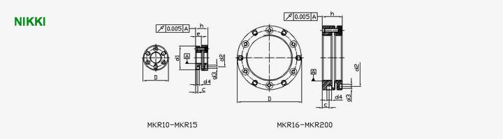 NIKKI祥开 MKR系列轴向锁定精密车削螺帽